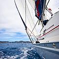 Sailing Bvi by Adam Romanowicz