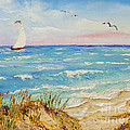 Sailing By The Beach by Jimmie Bartlett