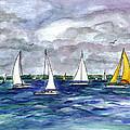 Sailing Day by Clara Sue Beym