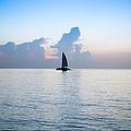 Sailing Daybreak by Louis Ferreira
