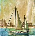 Sailing Dreams On A Summer Day by Deborah Benoit