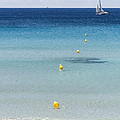 Son Bou Beach In South Coast Of Menorca Is A Turquoise Treasure - Sailing In Blue by Pedro Cardona Llambias
