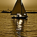 Sailing In Sepia by Frozen in Time Fine Art Photography