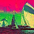 Sailing In Shimmer by Julie Lueders