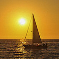 Sailing Into The Sunset by Aged Pixel