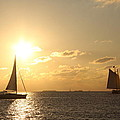 Sailing Into The Sunset by Christiane Schulze Art And Photography