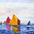 Sailing Nantucket Sound by Michael Helfen