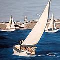 Sailing On San Francisco Bay by Vinita C