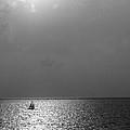 Sailing On Sunset by Patti Colston