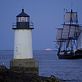 Sailing Out For The Red Moon by Jeff Folger