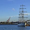Sailing Ship by Miguel Ramos