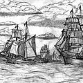 Sailing Ships by Rodger Larson