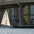 Sailing The Intracoastal by Ed Gleichman