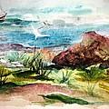 Sailing Towards Anywhere by Mary Spyridon Thompson