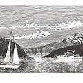 Sailing Mount Hood Oregon by Jack Pumphrey