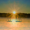 Sailing When The Sun Comes Up by Bill Cannon