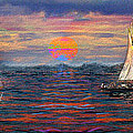 Sailing While Dreaming by Jeff Breiman