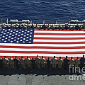 Sailors And Marines Display by Stocktrek Images