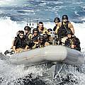 Sailors Conduct Maneuvers by Stocktrek Images