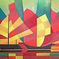 Sails And Ocean Skies by Tracey Harrington-Simpson