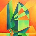 Sails At Sunrise by Tracey Harrington-Simpson