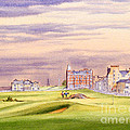 Saint Andrews Golf Course Scotland - 17th Green by Bill Holkham
