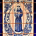 Saint Anthony Of Padua by Christine Till