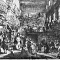 Saint-aubin Louvre, 1753 by Granger