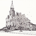 Saint Bridget Church by Michelle Welles