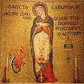 Saint Catherine Of Alexandria Altar by Philip Ralley