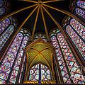 Saint Chapelle Windows by Inge Johnsson