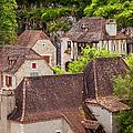 Saint Cirq Rooftops by Brian Jannsen