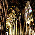 Saint Denis Cathedral by Olivier Le Queinec
