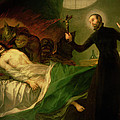 Saint Francis Borgia Helping A Dying Impenitent by Goya