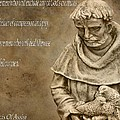 Saint Francis Of Assisi by Dan Sproul
