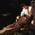 Saint Francis Of Assisi In Ecstasy by Caravaggio