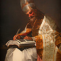 Saint Gregory The Pope by Mountain Dreams