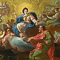 Saint James Being Visited By The Virgin by Francisco Bayeu y Subias