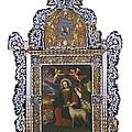 Saint John. Colonial Baroque. Oil by Everett