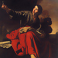 Saint John The Evangelist At Patmos by Mountain Dreams