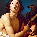 Saint John The Evangelist by Francois Andre Vincent
