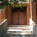 Saint John's Catholic Church Entrance by The GYPSY