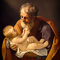 Saint Joseph And The Christ Child by Mountain Dreams