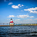 Saint Joseph Lighthouse And Pier Picture by Paul Velgos