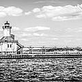 Saint Joseph Lighthouse Retro Panoramic Photo by Paul Velgos