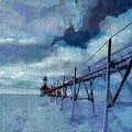 Saint Joseph Pier Lighthouse In Winter by Dan Sproul