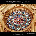 Saint Josephs Cathedral Stained Glass Window Buffalo New York by Rose Santuci-Sofranko