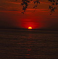 Saint Lawrence River Sunset Iv by Brian Lucia