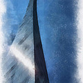 Saint Louis Arch Photo Art 01 by Thomas Woolworth