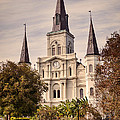 Saint Louis Cathedral by Heather Applegate